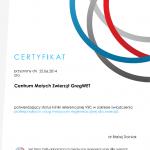 Certyfikat Centrum Malych Zwierzat GregWET