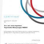 Certyfikat Przychodni Weterynaryjnej Therios